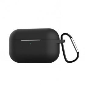 Étuis en silicone pour Boîtier écouteurs Airpods Pro - Noir